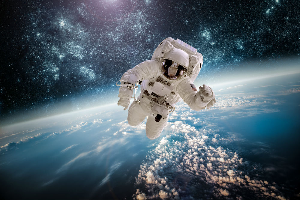 Nasa Man in Space